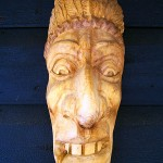 drewniana morda