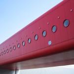 czerwony tunelik