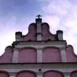 różowy kościoł